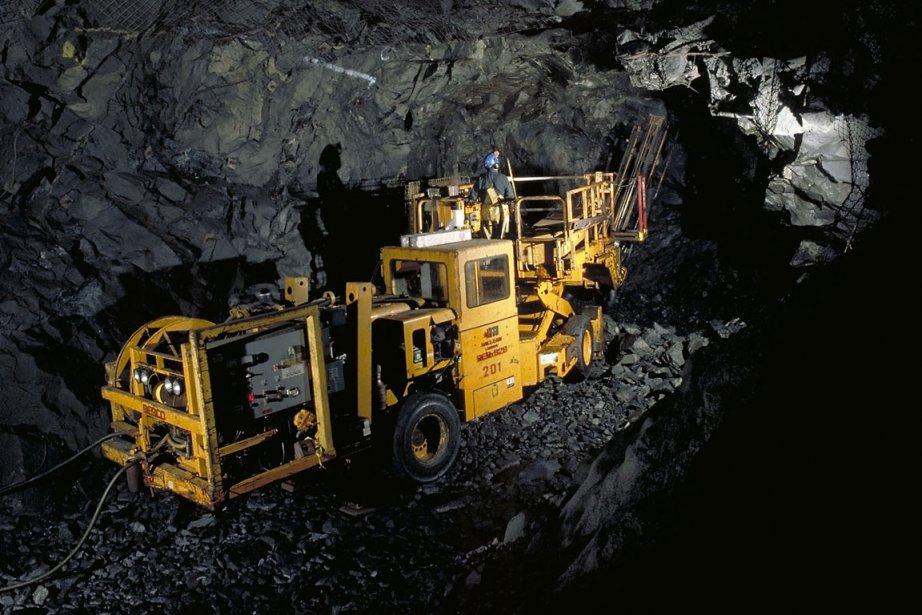 Après près de 50 ans de production, la mine... (Photo fournie par Xstrata)