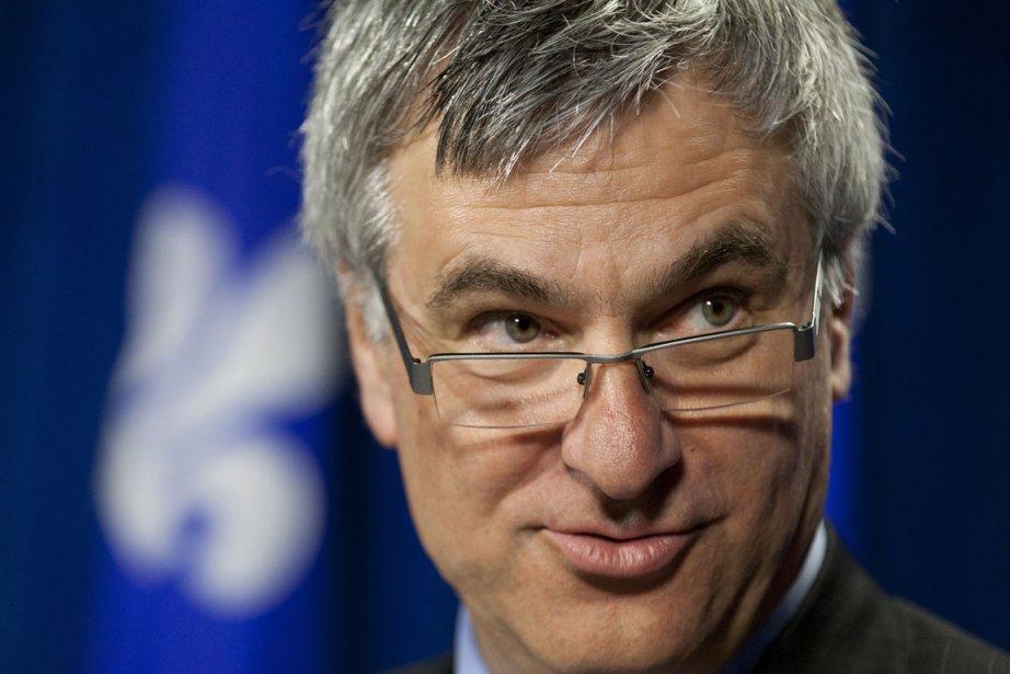 Jean-Marc Fournier, ministre québécois de la Justice et... (Photo PC)