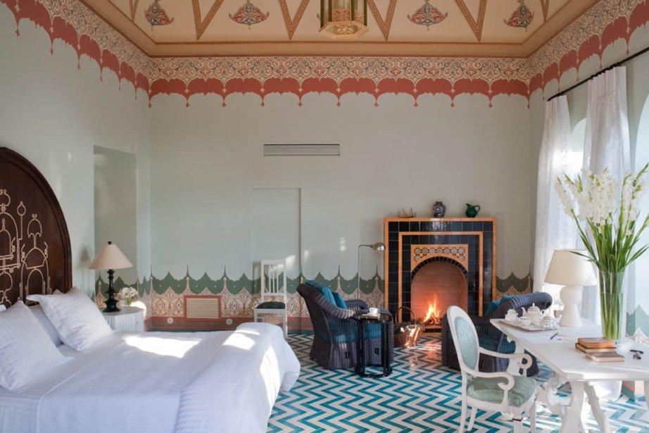 Une des suites offertes au Palazzo Margherita de... (Photo tirée du site internet Palazzo Margherita)