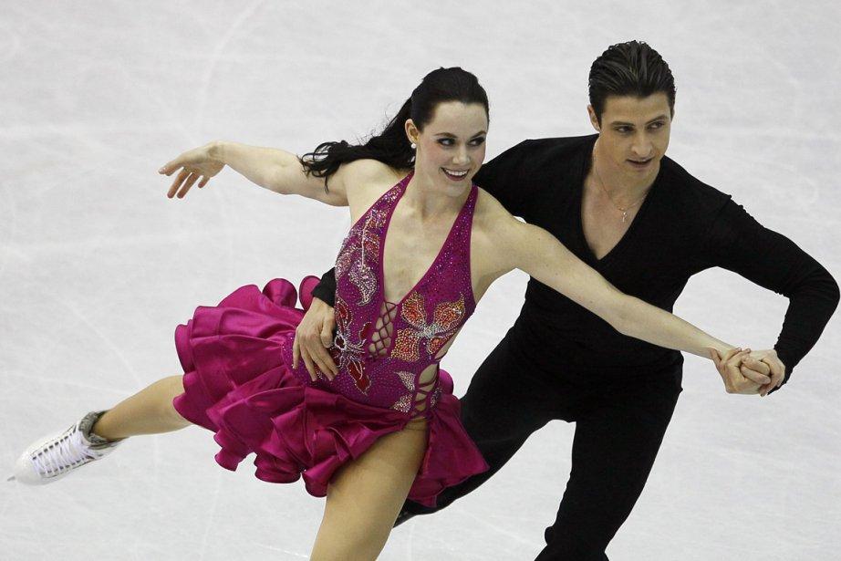 Tessa Virtue et Scott Moir ont remporté le... (Photo : François Mori, AP)
