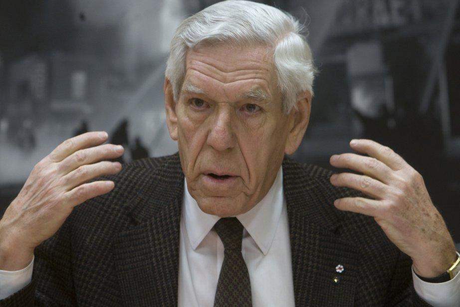 L'ancien ministre libéral Claude Castonguay.... (Photo: Rémi Lemée, Archives La Presse)