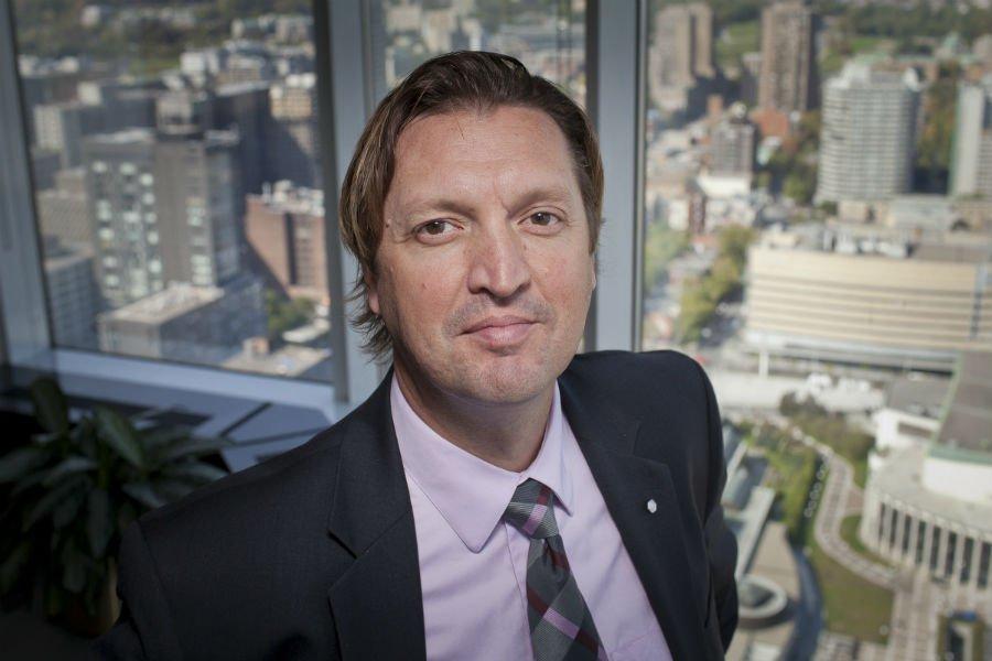 Nicolas Fréchette, conseiller principal en financement hypothécaire chez... (Photo Edouard Plante-Fréchette, La Presse)