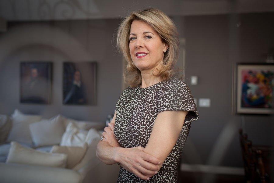 Andrea Martin, présidente de Biocéan.... (Photo Édouard Plante-Fréchette, La Presse)