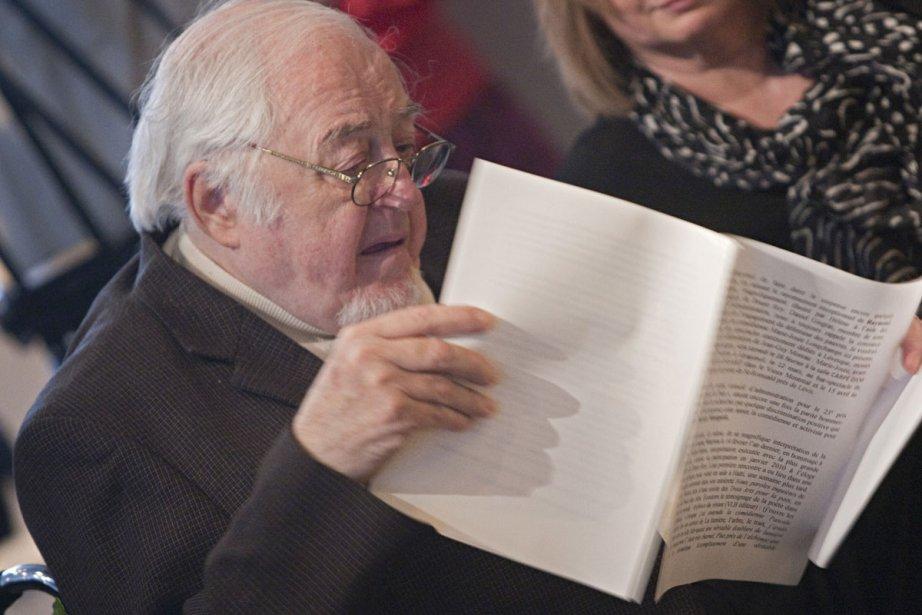 Âgé de 84 ans, Raymond Lévesque est l'auteur... (Photo: Ivanoh Demers, Archives La Presse)