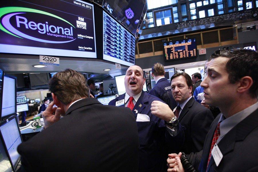 Wall Street a clôturé en légère hausse mercredi, soutenue par... (Photo Reuters)