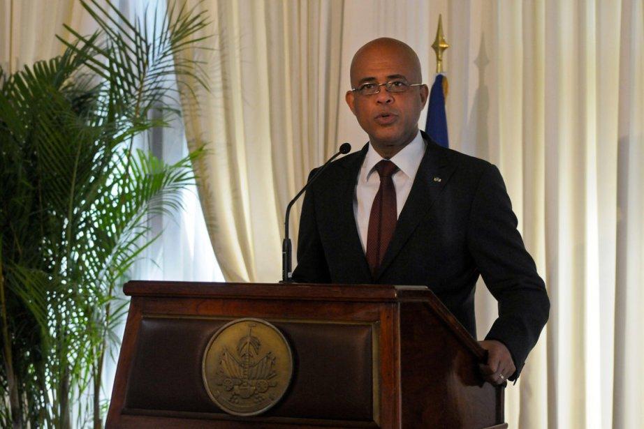 Le président haïtien Michel Martelly.... (Photo: Reuters)