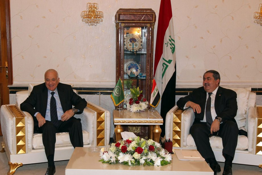 Le chef de la Ligue arabe, Nabil al-Arabi... (Photo: AFP)