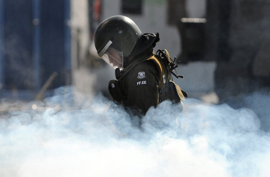 Des jeunes manifestent tous les 29 mars à... (Photo: CLAUDIO SANTANA, AFP)