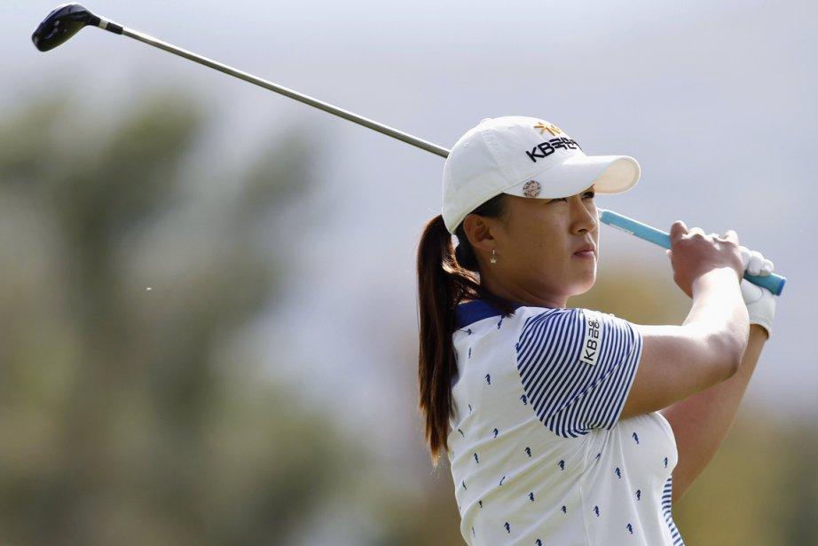 Âgée de 22 ans, Yang a réussi cinq... (Photo : Danny Moloshok, Reuters)