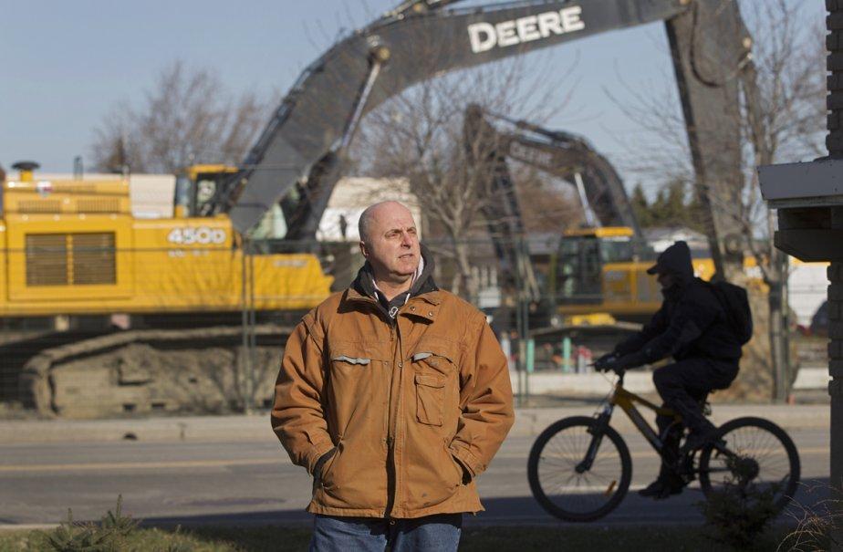 Diane Fournier et Keith Jones pourrait être expropriée... (Photo: Ivanoh Demers, La Presse)