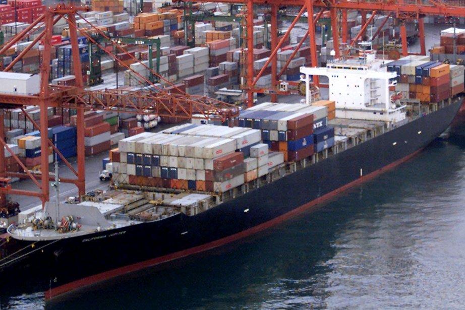 «La croissance du commerce a été stagnante ces... (Photo archives PC)