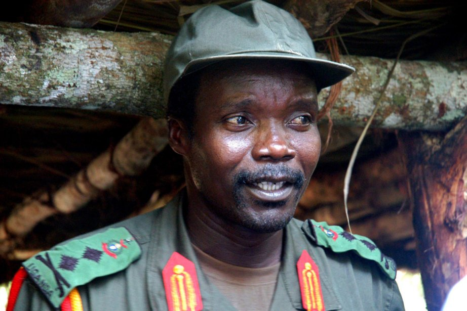 Le grand manitou de la LRA Joseph Kony.... (Photo: Archives AP)