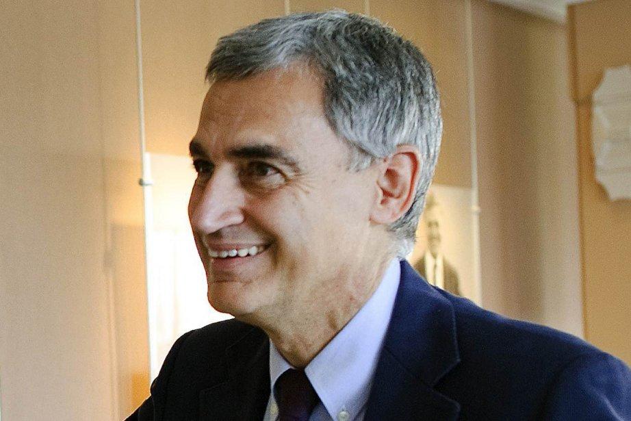 Le physicien italien, coordonateur de l'expérience Opera, Antonio... (Photo: Fabrice Coffrini, Archives AFP)