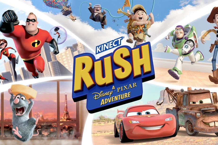 Kinect Rush: A Disney Pixar Adventure propose d'entrer...