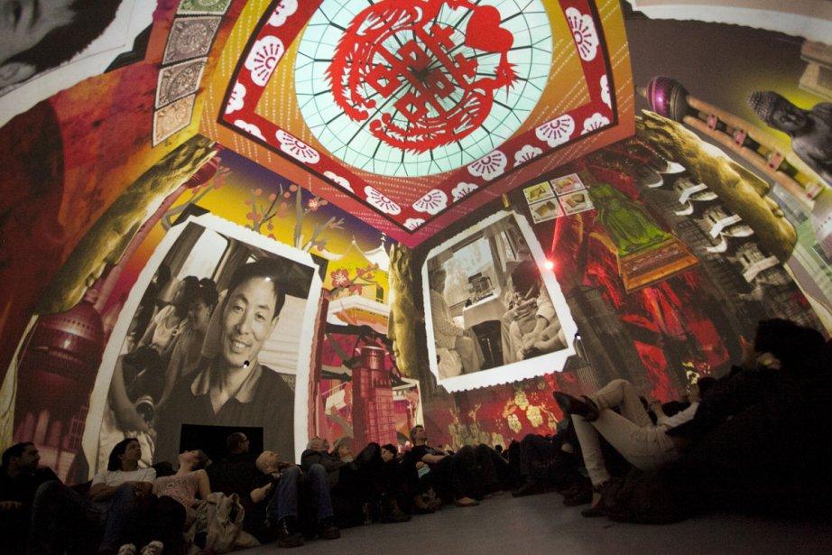 Shanghaï Express, de Martine Koutnouyan, présente aussi une... (Photo fournie par la SAT)