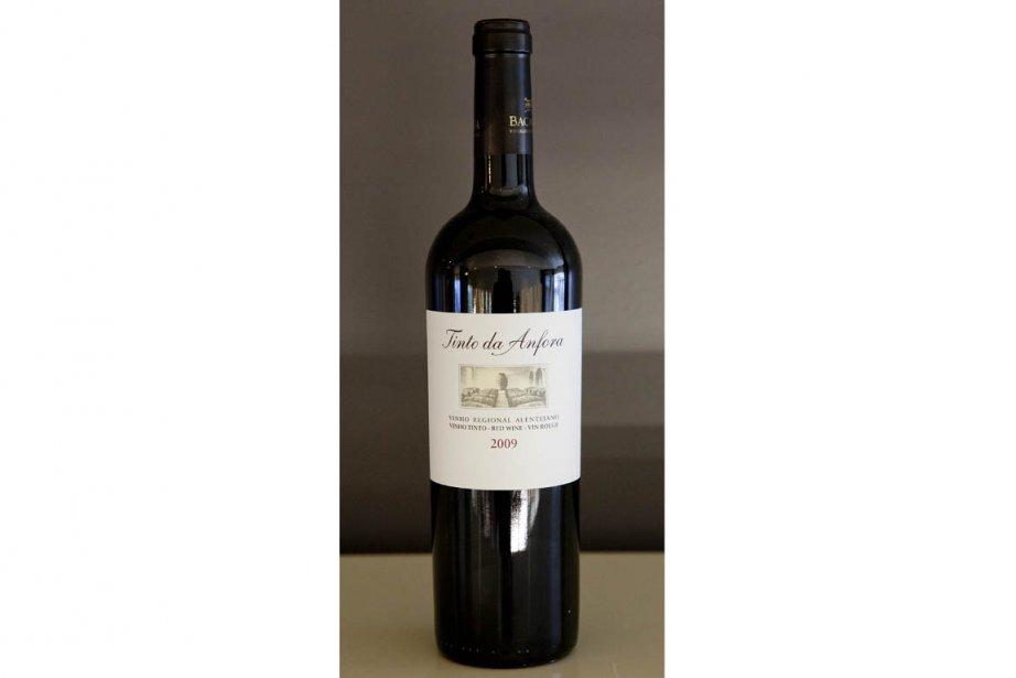 Vinho Regional Alentejano 2009 Tinta da Anfora, 14,95$...