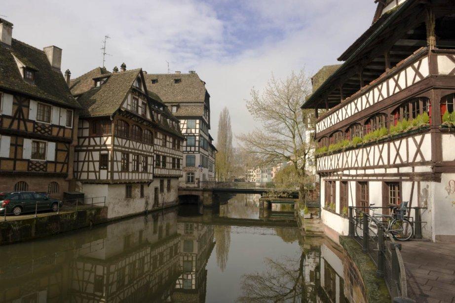 Le charmant quartier de la Petite-France, à Strasbourg... (Photo Photos.com)