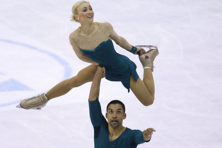 Aliona Savchenko et Robin Szolkowy ont devancé avec... (Photo : Valery Haché, AFP)