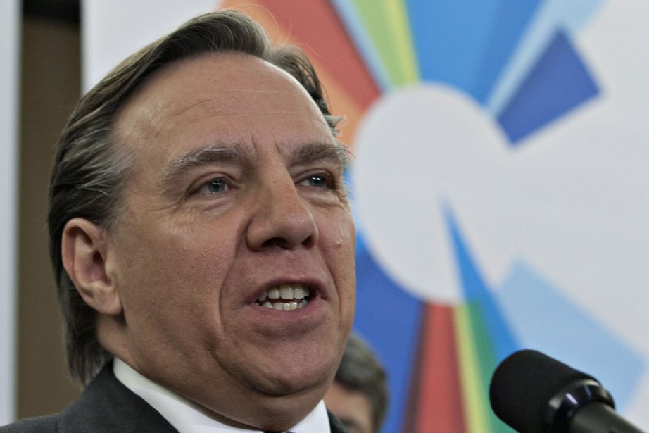 François Legault... (Photo PC)
