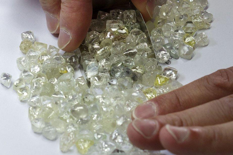 Dominion Diamond est un fournisseur de diamants bruts.... (Photo Robert Skinner, La Presse)