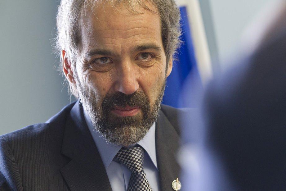 Qualifiant le Nouveau Parti démocratique de «saveur du... (Photo: Ivanoh Demers, La Presse)