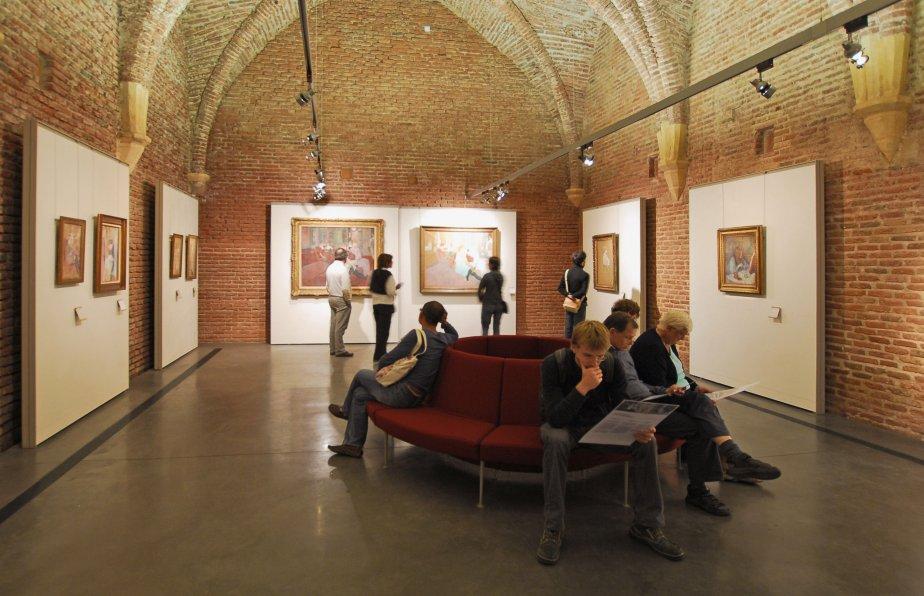 Le musée Toulouse-Lautrec d'Albi... (Photo La Presse)