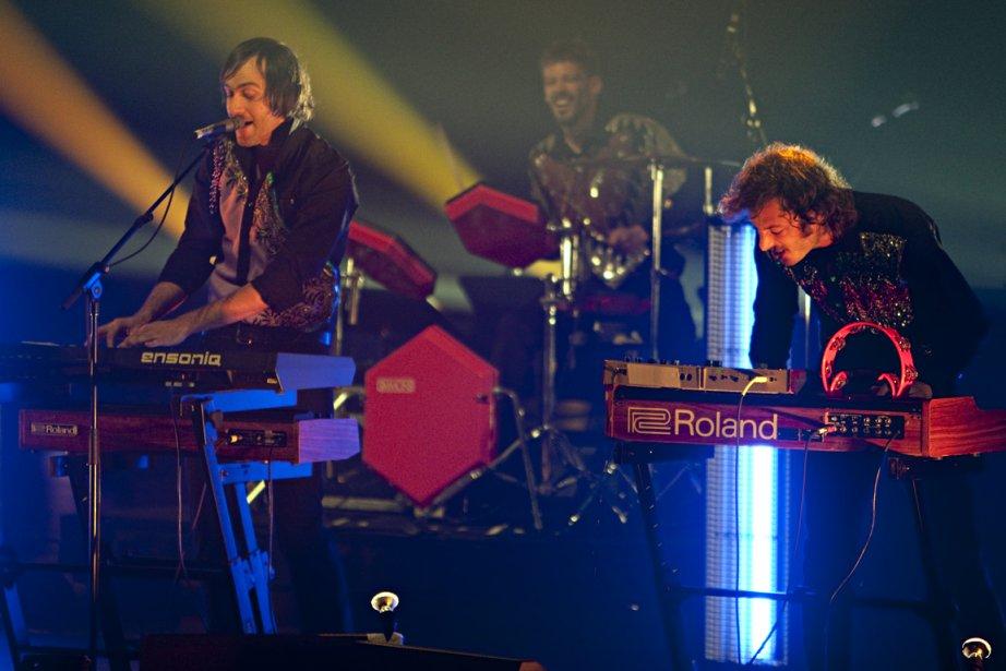 Le groupe rock indépendant Malajube a reçu un... (Photo : François Roy, archives La Presse)