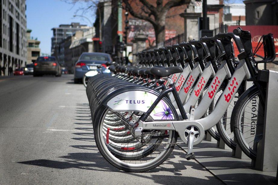 Dès ce lundi, les Montréalais pourront utiliser l'un... (Photo: Marco Campanozzi, La Presse)