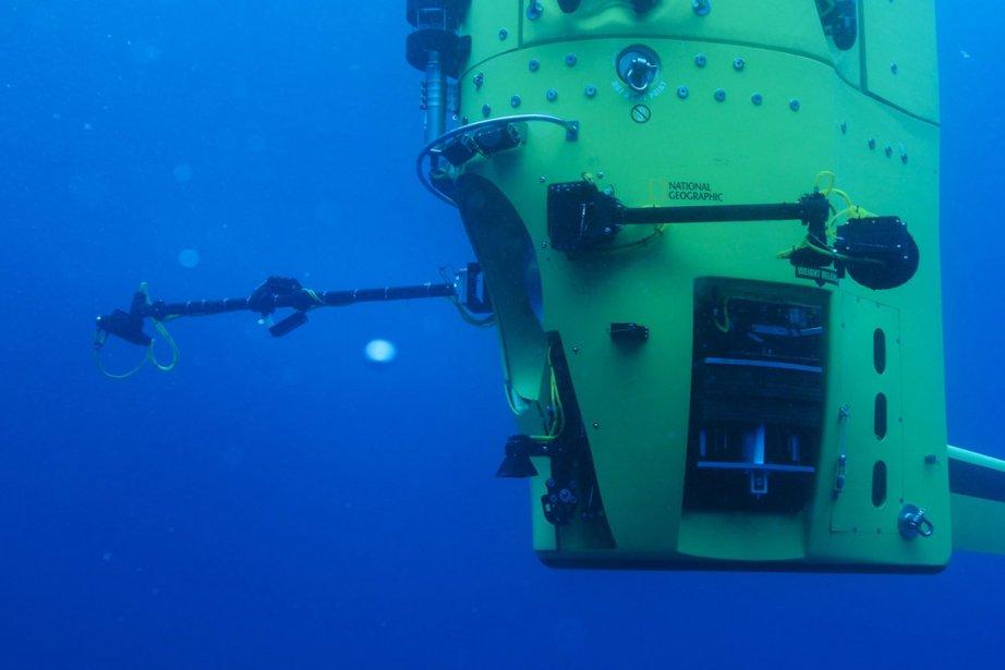 En atteignant dimanche dernier le Challenger Deep, à... (Photo : Mark Thiessen, Reuters)