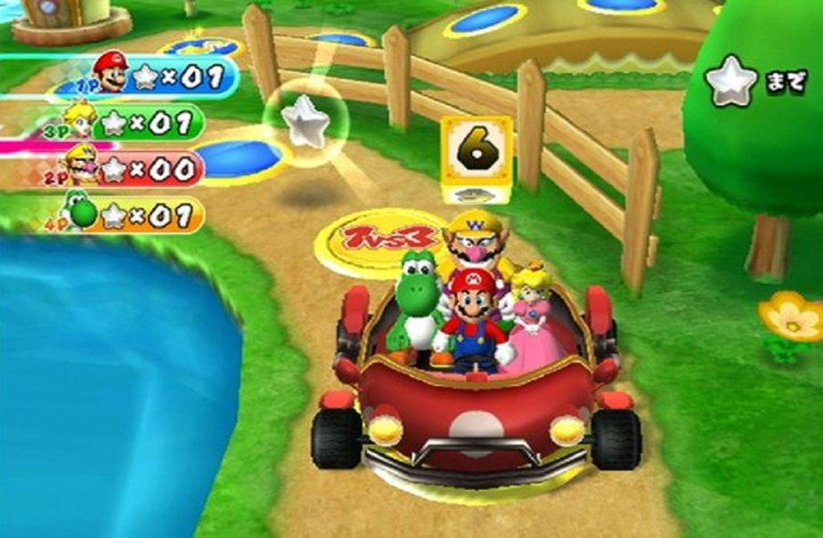 Pas grand-chose de nouveau n'avait été fait sous la licence  Mario Party...