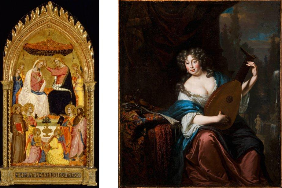 Deux oeuvres de la collection européenne du MBAM... (Photos fournies par le Musée des beaux arts de Montréal)