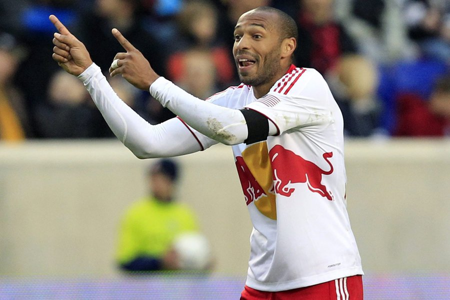 Thierry Henry... (Photo: Reuters)