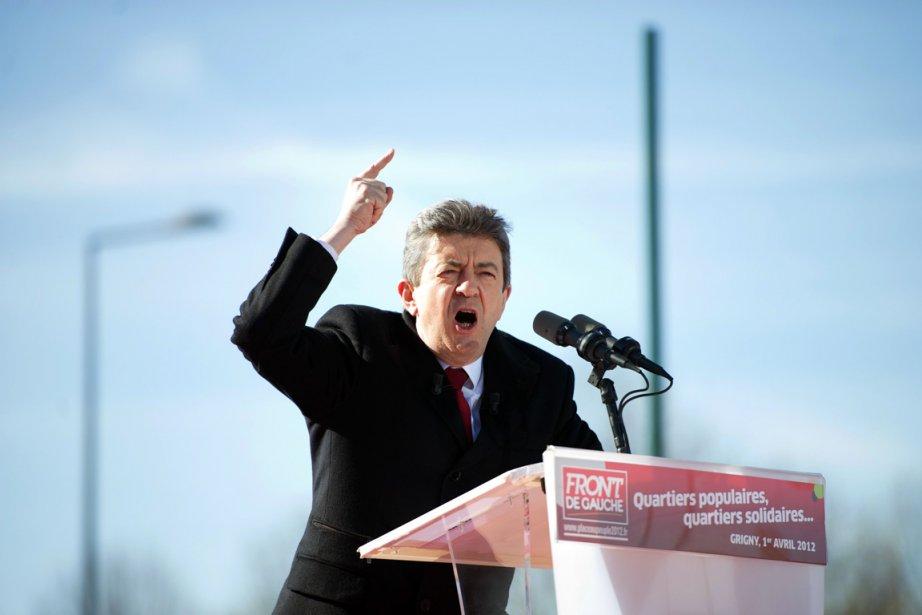 Le candidat du Front de gauche Jean-Luc Mélenchon... (Photo: Bertrand langlois, AFP)