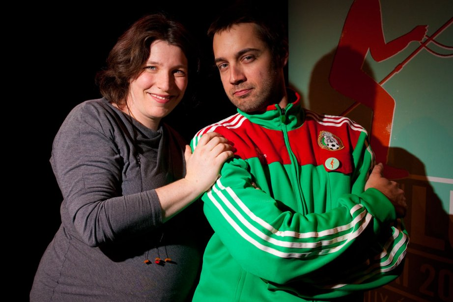 Marcelle Dubois et Jean-François Nadeau, responsables de la... (Photo André Pichette, La Presse)