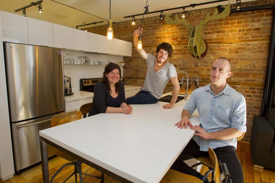 Les architectes de La Shed ont optimisé chaque... (Photo: Alain Roberge, La Presse)