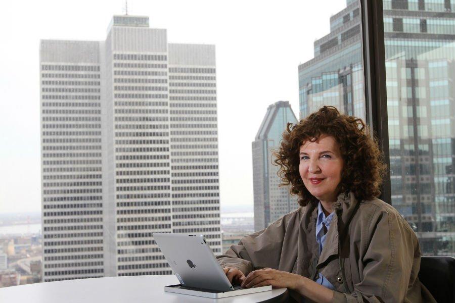Louise Guay, présidente de Living LabMontréal, veut révolutionner... (Photo Stéphane Champagne, collaboration spéciale)