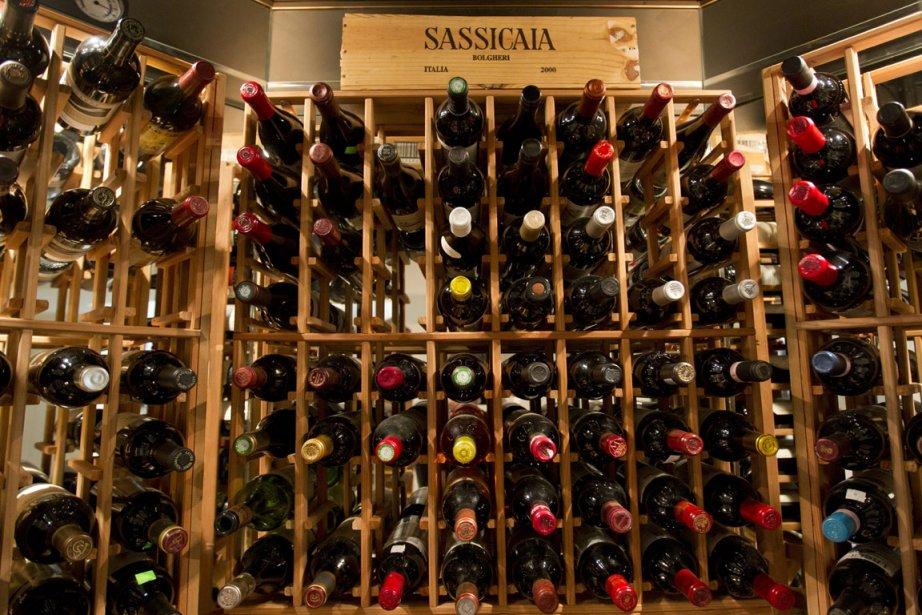 De façon générale, la valeur des vins compris... (Photo: Ivanoh Demers, La Presse)