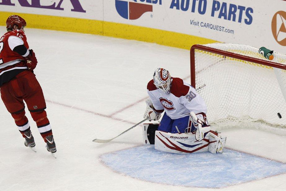 Eric Staal a inscrit le but de la... (Photo : Ellen Ozier, Reuters)