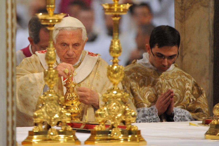 Pape Benoît XVI... (Photo AFP)