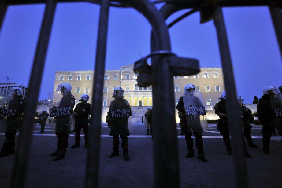 En raison de la crise, plusieurs manifestations ont... (Photo AFP)