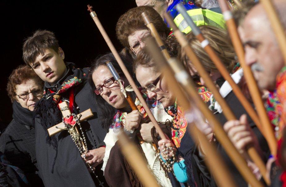 Chaque année, la marche du Pardon attire des... (Photo: Ivanoh Demers, La Presse)