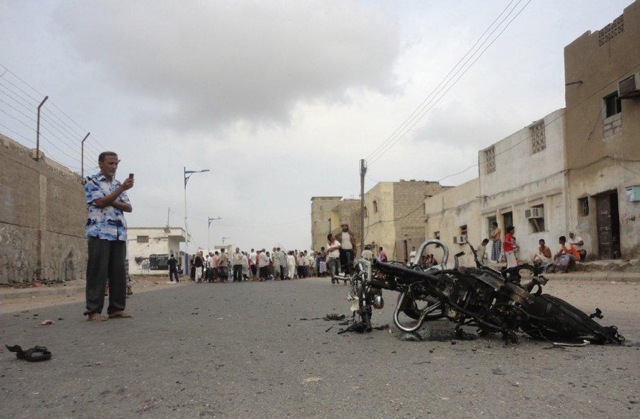 Selon des témoins, l'homme a fait exploser sa... (Photo: Reuters)
