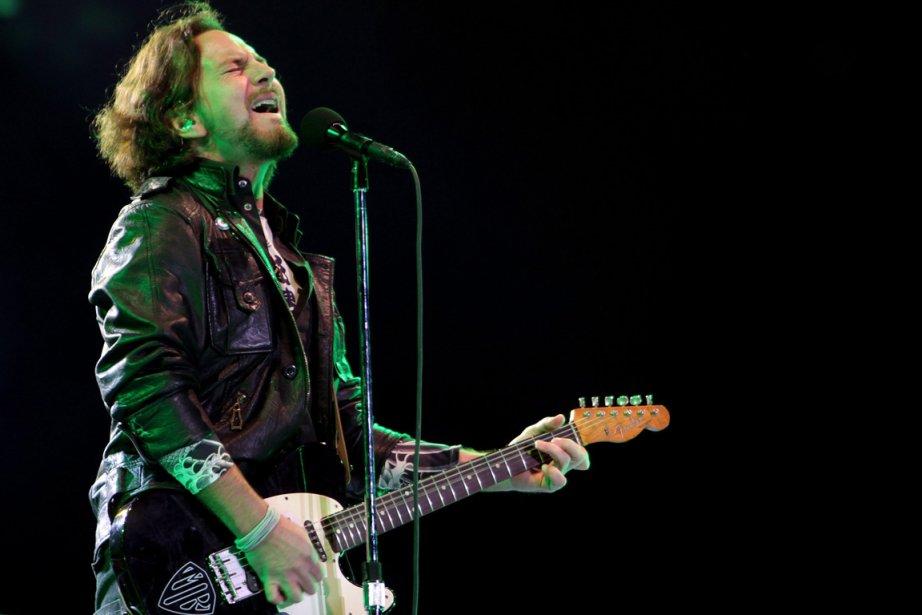 Eddie Vedder ne pourra pas participer au célèbre... (Photo : Andre Penner, PC)