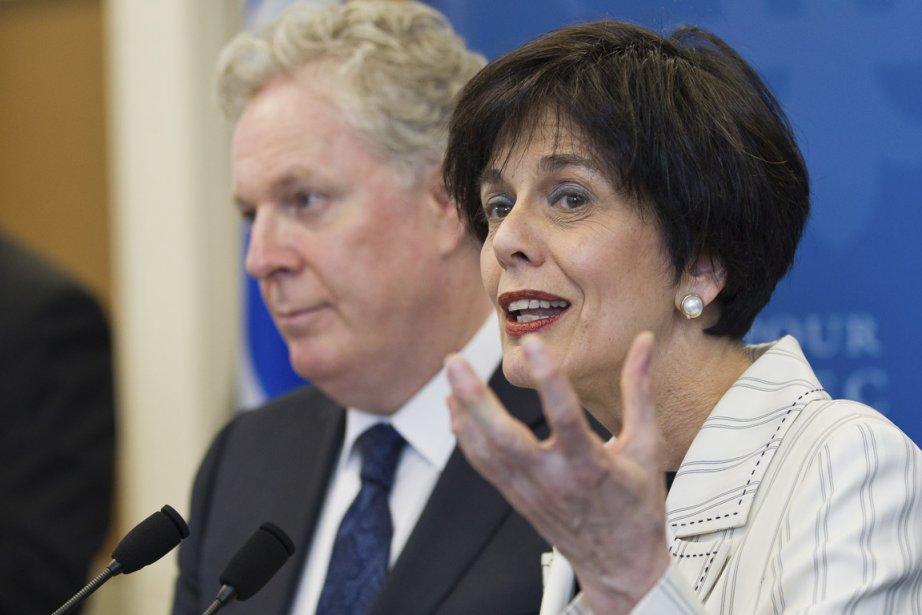Michelle Courchesne est la nouvelle ministre de l'Éducation.... (Photo : Edouard Plante-Fréchette, La Presse)