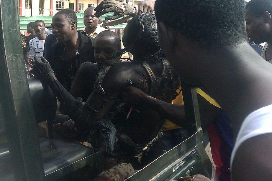 Un kamikaze en voiture a été stoppé à... (Photo: AFP)