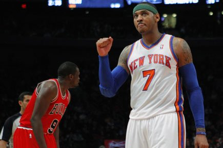 Carmelo Anthony... (Photo: Reuters)