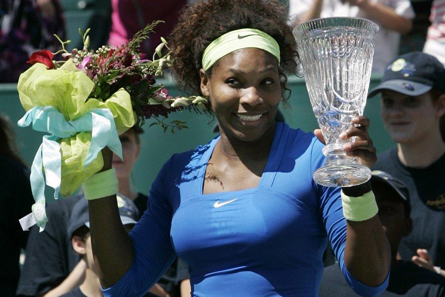 Serena Williams a remporté le tournoi de Charleston,... (Photo: Reuters)