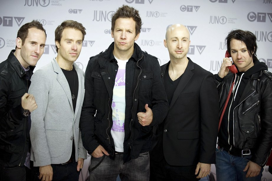 Simple Plan... (Photo: archives AP)
