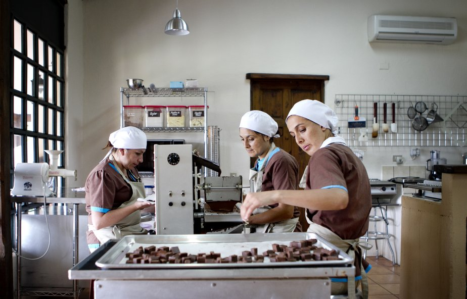 Visite de la chocolaterie Sibu à San Isidro de Heredia au Costa Rica. (Marco Campanozzi, La Presse)