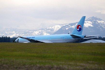L'avion transportant 149 passagers a atterri sans dommages... (Photo: PC)